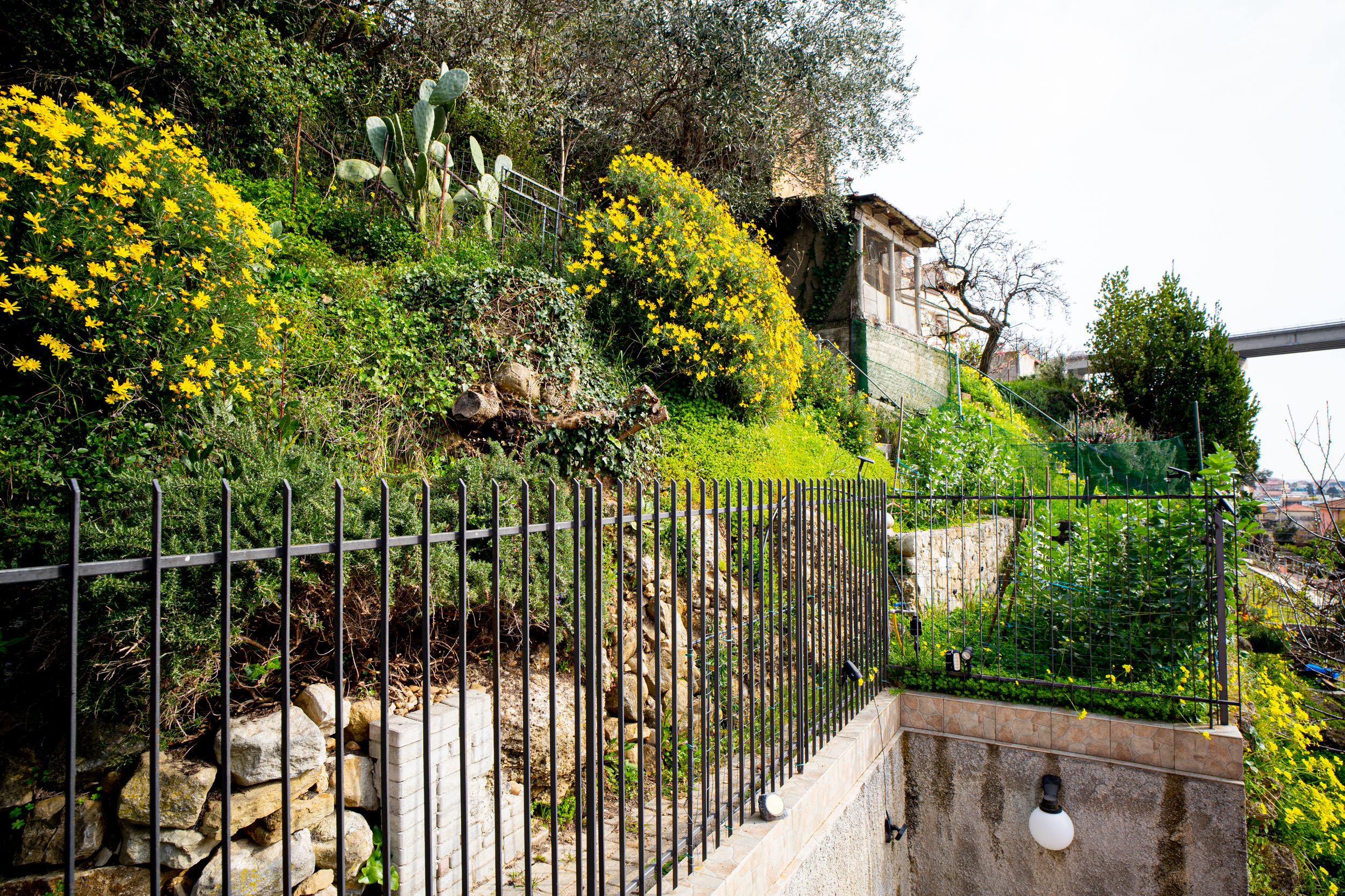 Villa indipendente, Camporosso (IM) in posizione dominante.